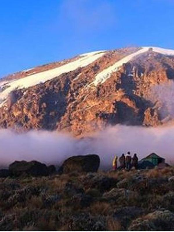 Gunung Kilimanjaro di Tanzania, Afrika. (dok.Instagram @kilimanjaro.summit/https://www.instagram.com/p/Bj6loGvDhGJ/Henry