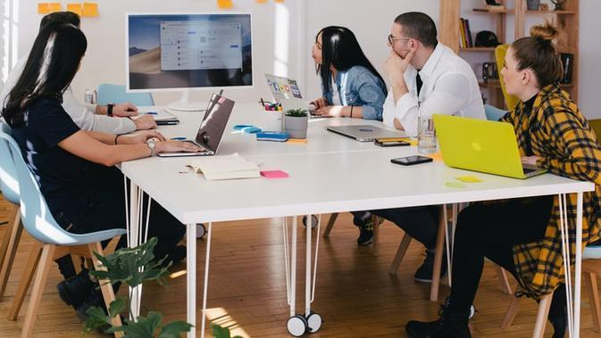 Ilustrasi Co-Working Space Credit: unsplash.com/You