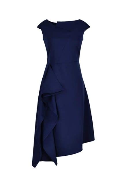 Drape Front Asymmetric Dress (Photo: Amazon)