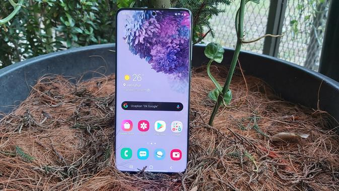 Samsung Galaxy S20 Plus. Liputan6.com/iskandar