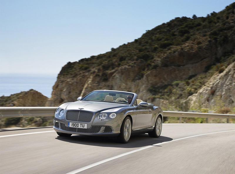 First drive: 2012 Bentley Continental GT convertible