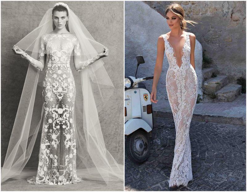 Naked wedding dresses