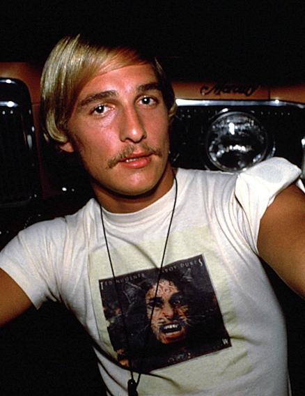 Mustache Gallery Matthew McConaughey Dazed and Confused