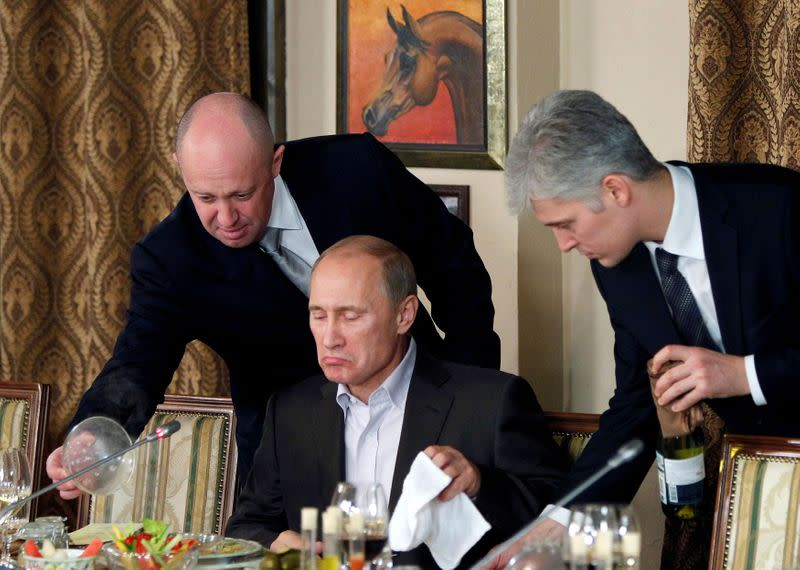 'Putin's cook' seeks to distance himself from U.S. election meddling