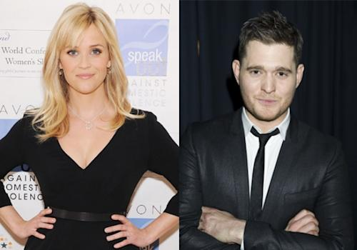 Reese Witherspoon, Michael Buble -- Getty Images