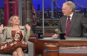 Amy Sedaris was a Wonderful Lunatic on 'Letterman' Last Night