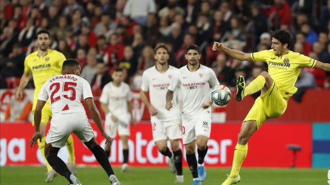 Duel antara Sevilla vs Villarreal dalam lanjutan LaLiga 2019/20.