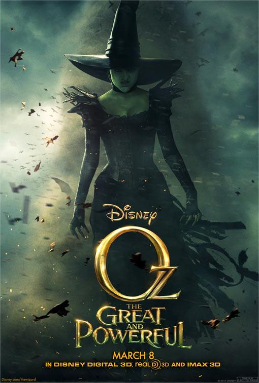 Mysterious witch poster emerges for new 'Oz' film