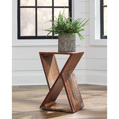 Zipcode Design Abernethy Solid Wood End Table In Natural Wash Size 19 H X 13 W D Wayfair Zpcd5819 43989095 Yahoo Ping - Renovo Solid Oak Side Table With Storage