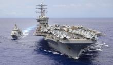 美中互秀肌肉!中國在亞洲三海域同時軍演 美國雙航母也在南海大規模演習