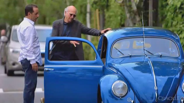 "Jerry Seinfeld reveals his earnest car guy side with Larry David in ""Comedians"" debut"
