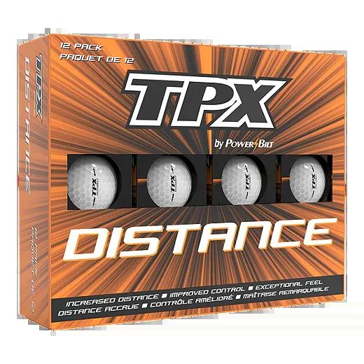 Powerbilt TPX Distance Golf Balls - 12Pk