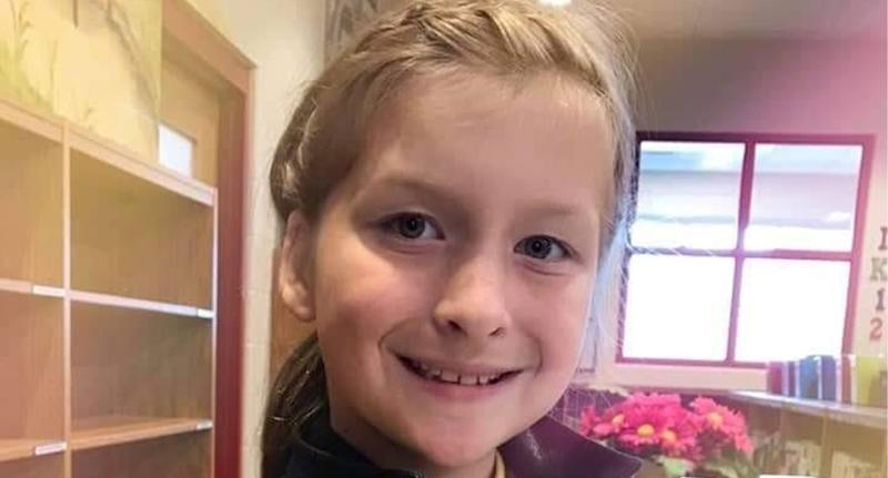 Kentucky girl Charlene Sipes (pictured) died on her ninth birthday after a freak bike accident.