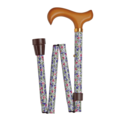 Classic Canes 可摺式手杖 ﹣ 白花