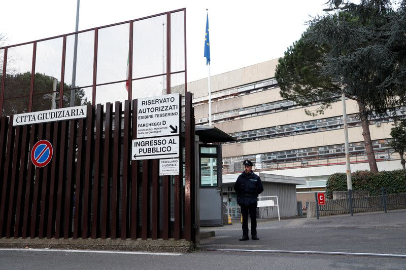 Trial begins for two Americans accused of killing Italian police officer, in Rome