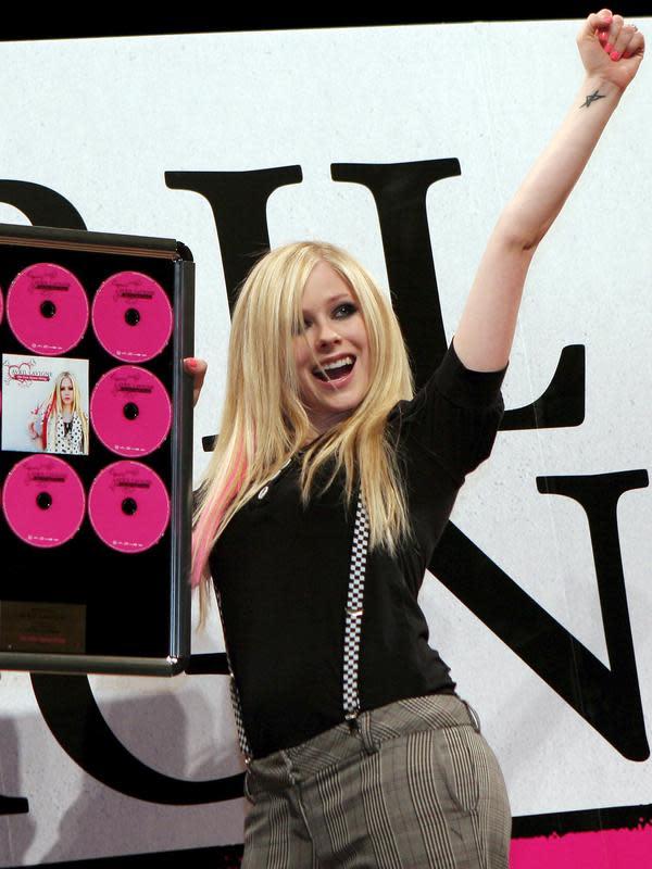 Avril Lavigne (Bintang/EPA)