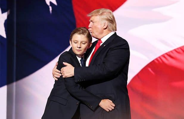 Barron Trump Tested Positive for COVID-19
