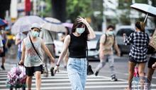 「紅霞」颱風生成 12縣市高溫警報