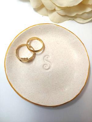 Wedding Ring Dish Engagement Ring Dish Engagement Gifts |Wedding Gift Birthday Gift Monogram Laurel Ring Dish Bridesmaid Gift