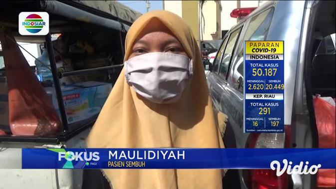 VIDEO: 150 Pasien Sembuh COVID-19 di Hotel Asrama Haji Surabaya