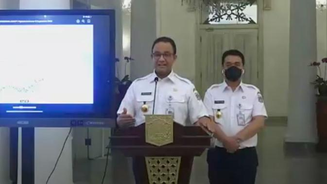 Gubernur DKI Jakarta Anies Baswedan memutuskan kembali menetapkan PSBB seperti awal. (Istimewa)