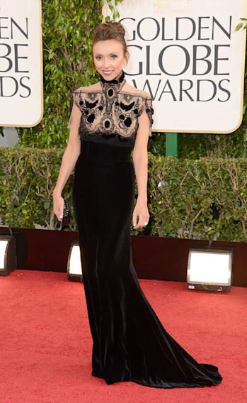 70th Annual Golden Globe Awards - Arrivals: Giuliana Rancic