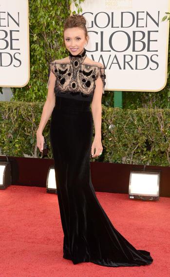 70th Annual Golden Globe Awards - Arrivals: Giuliana Rancic