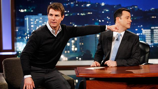 Tom Cruise Demonstrates Movie Star Method for Dramatic Improv on 'Kimmel'