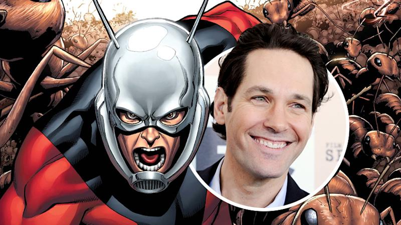 Paul Rudd to Star in Marvel's 'Ant-Man'