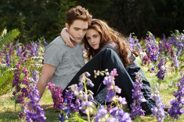 Robert Pattinson and Kristen Stewart are seen in a scene from 'The Twilight Saga: Breaking Dawn -- Part 2' -- Summit Entertainment