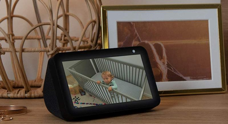 This Echo Show 5 has £20 off on Amazon, and is arguably the most versatile of all the Alexa smart devices. (Amazon)
