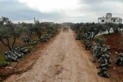 Pasukan Suriah, Turki terlibat bentrokan berdarah di Idlib