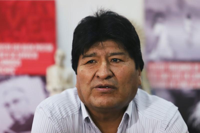 Bolivia exiled ex-president Morales retracts call for 'armed militias'
