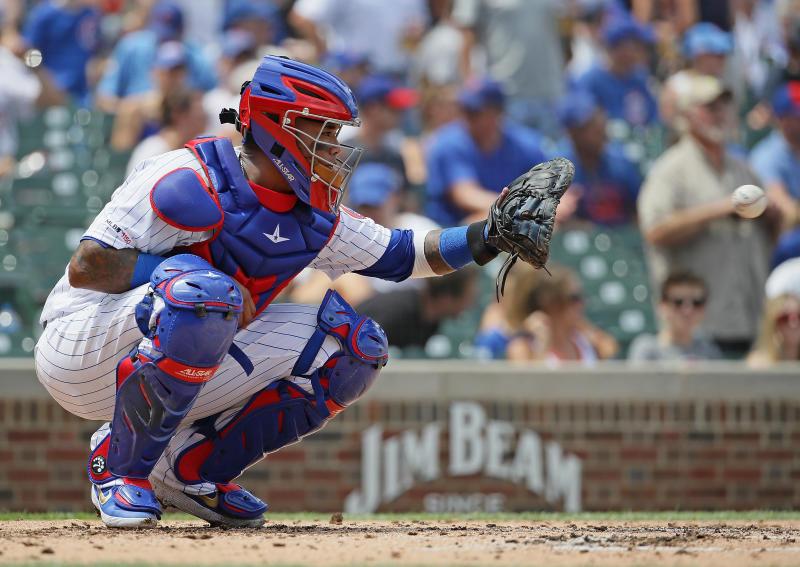 Martín Maldonado is headed to the Astros again. (Photo by Jonathan Daniel/Getty Images)