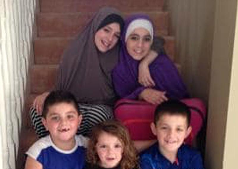 Grandmother fights to bring home children of terrorist Khaled Sharrouf