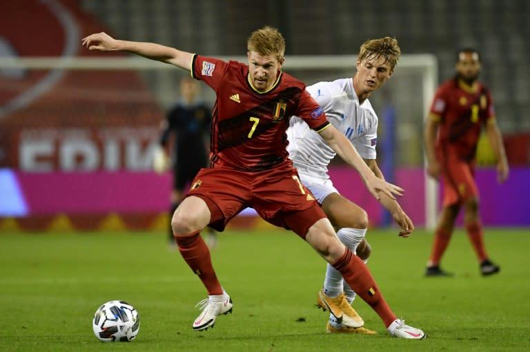De Bruyne tips England to shine at Euros, World Cup