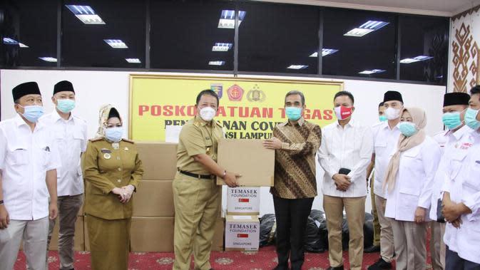 Gerindra Bantu Pemda Lampung Hadapi Covid-19