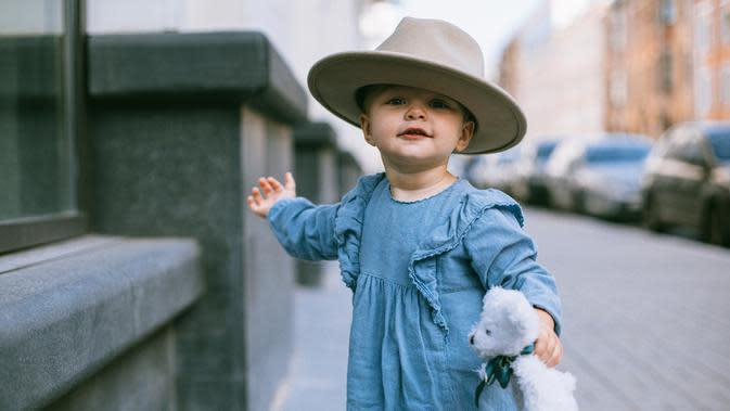 Ilustrasi Bayi Perempuan (Foto: @katie/pexels.com)