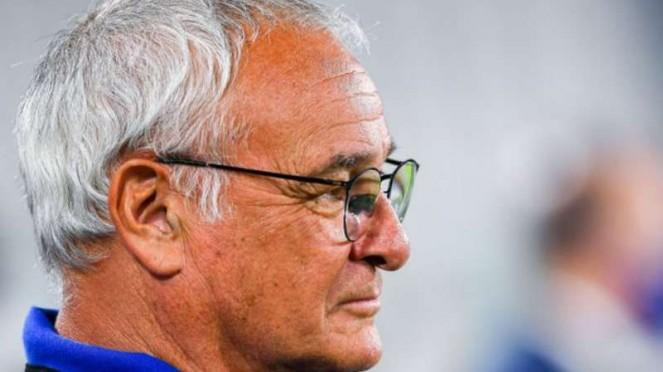 Pelatih Sampdoria, Claudio Ranieri.