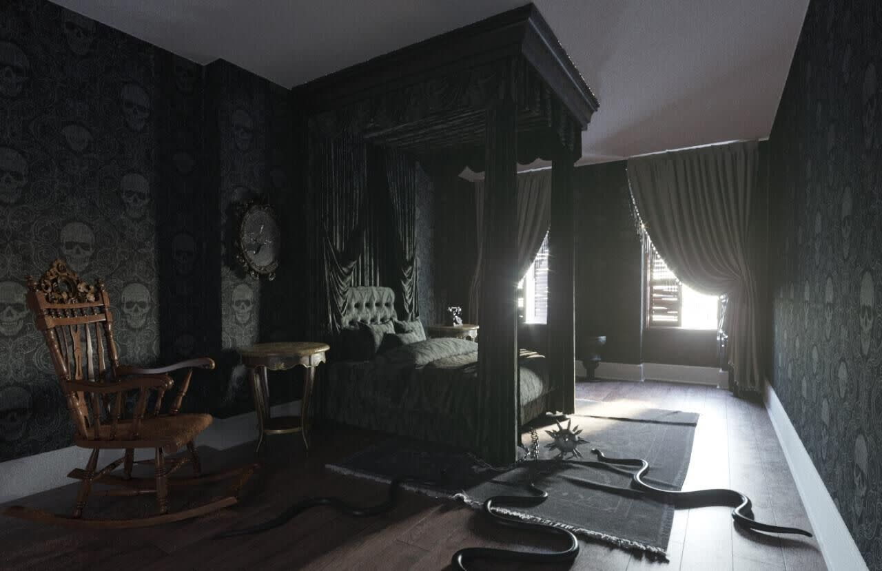 """Daring guests can now receive the ultimate Halloween experience at The Addams Family Mansion. <a href=""""https://fave.co/35TFqs7"""">Booking.com</a> is offering guests the chance to book a real-life replica of the iconic family's home. Located in historic Clinton Hill Brooklyn, it will be available for AU$148.73 per night. Guests will be able to tinker with machines in <strong>Pugsley's Room</strong>, play with <strong>Wednesday's</strong> beheaded doll in the living room, and even care for some of <strong>Morticia's</strong> carnivorous plants n the three-bedroom, 19th century era townhouse. Careful not to get too spooked if <strong>Thing</strong> appears while exploring. The experience comes complete with spooky snacks, a screening of the feature film and more. Bookings beginning on October 28, with four exclusive overnight stays occurring each night from October 29 until November 1. Photo: Supplied"""