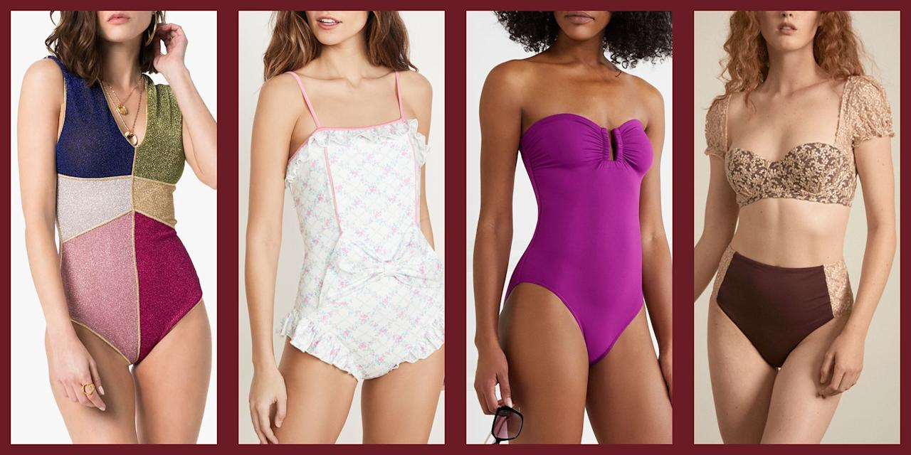 "<p>Swimwear can be a tricky mistress. Everyone wants to look their best when they hit the beach or spend time poolside, but <a href=""https://www.townandcountrymag.com/style/fashion-trends/g9867208/best-swimsuits-for-older-women/"" target=""_blank"">chic cuts made with fabrics that flatter</a>—and styles that don't cycle through trends too quickly—are difficult to come by. The fact is, when you're tossing on a <a href=""https://www.townandcountrymag.com/style/fashion-trends/g18369364/best-swimsuits-for-women/"" target=""_blank"">high-waisted bikini or a one piece</a>, you should trust that are wearing the most fashionable, flattering, and comfortable maillot available. </p><p>Luckily the swimwear space has experienced tremendous growth in the last few years, bringing forth high-fashion silhouettes, classic cuts, and pieces that we reach for season after season. Whether you're looking for a classic bandeau bikini from French swimwear label Eres, or want to dive into the world of feminine and quirky one pieces from LoveShackFancy and Oseree, these are the best swimsuit brands to pick your beach essentials from this year. </p>"