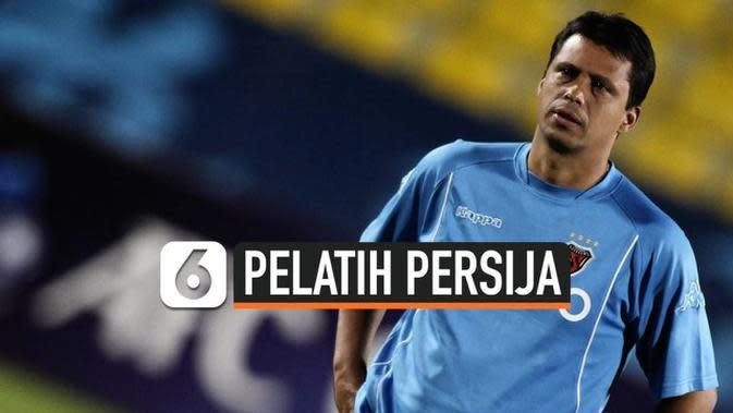 VIDEO: Sergio Farias Resmi Jadi Pelatih Persija Jakarta