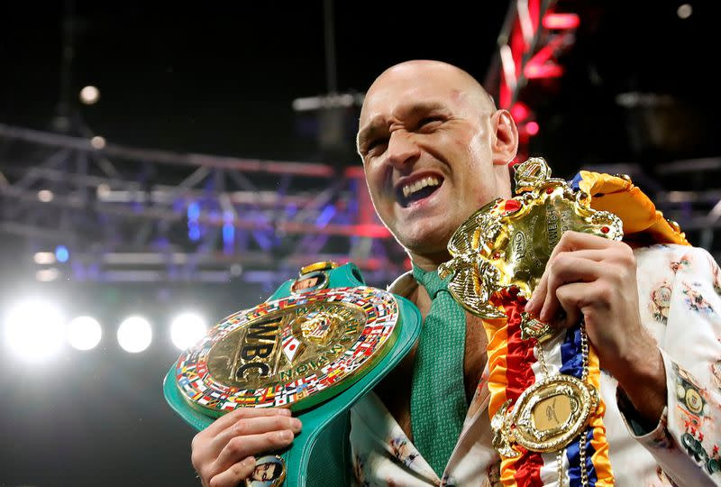 Fury says has two fights left, Top Rank's DuBoef not so sure