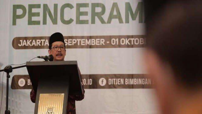 Kemenag GelarPenguatan Kompetensi Penceramah Agama Angkatan Pertama