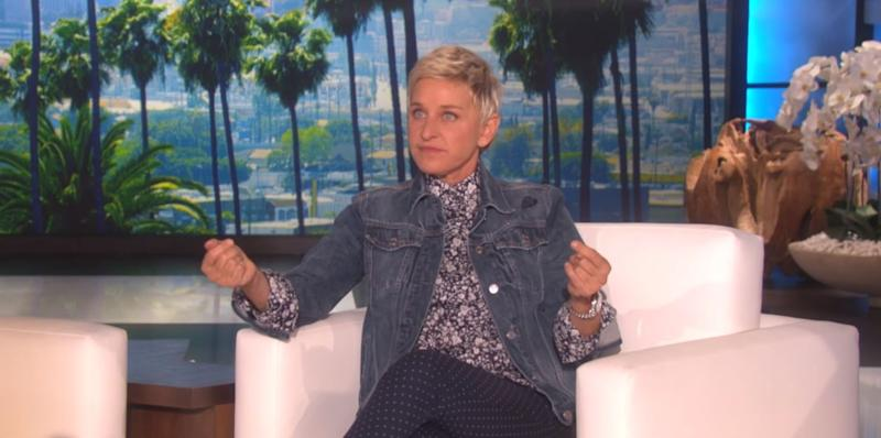 Photo credit: @TheEllenShow - YouTube