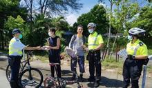 新界北單車意外頻 警方聯同醫療輔助隊推廣單車安全