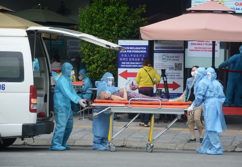 Vietnam says contagion 'under control' in virus epicentre but spread elsewhere