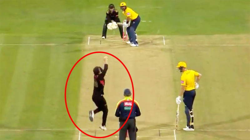 South African spinner sets T20 world record by taking seven wickets