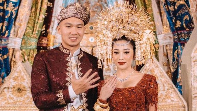 Akad Nikah Nikita Willy dan Indra Priawan (Sumber: Instagram/thebridestory)