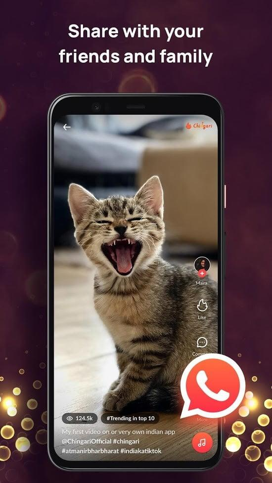 best tiktok alternative apps chingari3